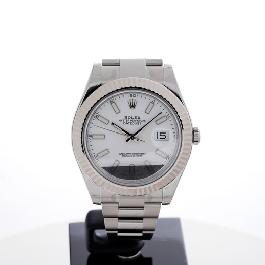 Rolex Datejust II White Dial 116334/1
