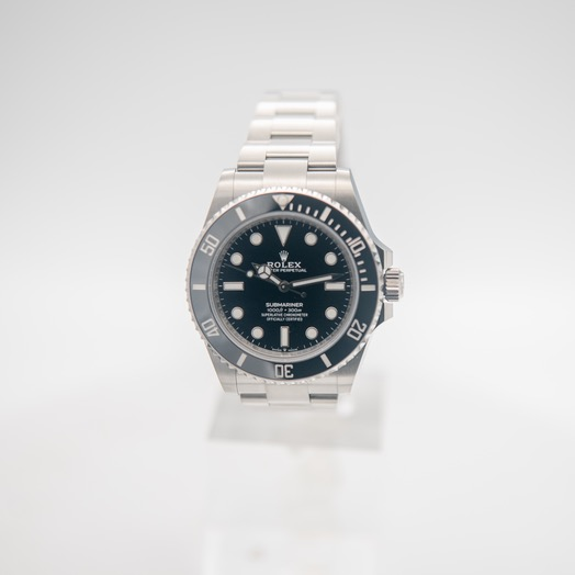 Rolex Submariner Oystersteel New Model 2020 Automatic Chronometer Black Dial Men's Watch 124060-0001