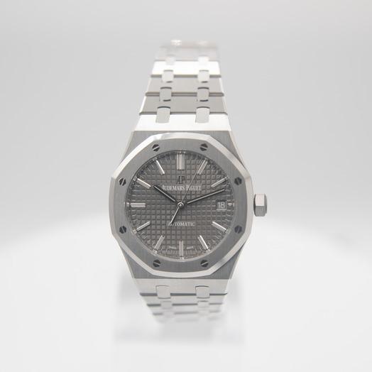 Audemars Piguet Royal Oak Automatic Grey Ruthenium Dial Ladies Watch