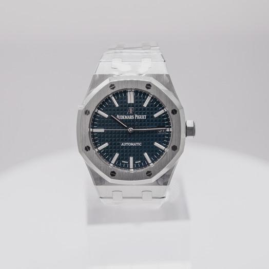 Audemars Piguet Royal Oak Blue Dial Men's Watch 15450ST.OO.1256ST.03