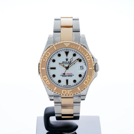 Rolex Yacht-Master 35 Rolesor White 168623-WSYGO