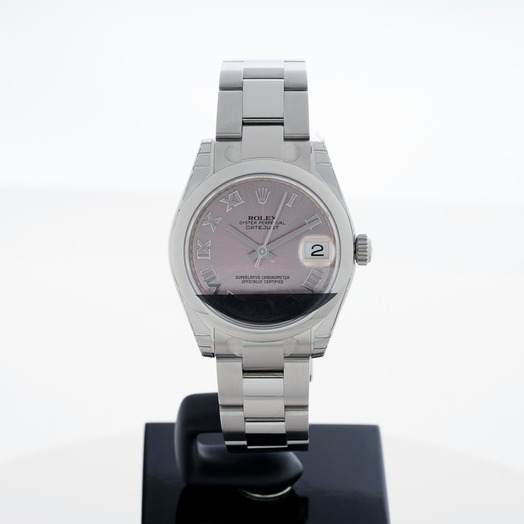Rolex Datejust 31 Stainless Steel Domed / Oyster / Pink Roman 178240/1