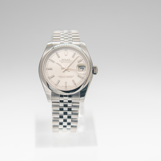 Rolex Datejust 31 Steel Automatic Silver Dial Ladies Watch 178240-0005