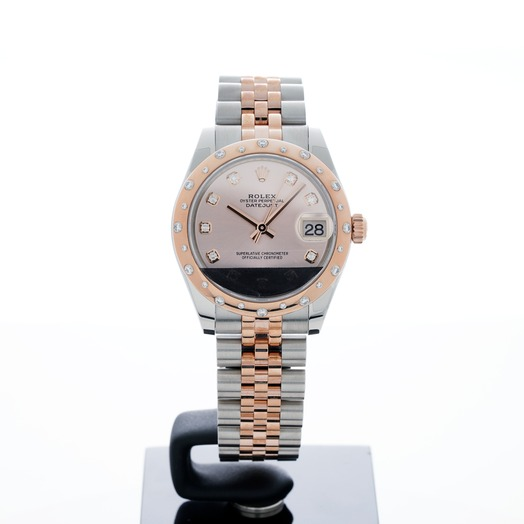 Rolex Datejust 31 Pink Steel/18k Rose Gold Dia 31mm