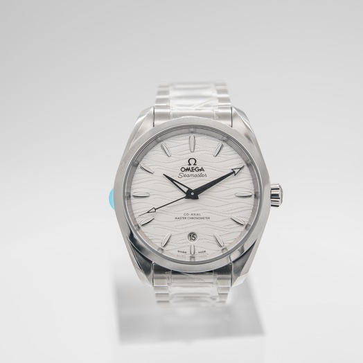 Omega Seamaster Aqua Terra 150M Co‑Axial Master Chronometer Ladies 38mm Automatic Silver Dial Steel Ladies Watch 220.10.38.20.02.003