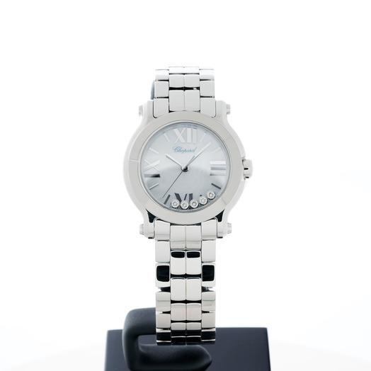 Chopard Happy Sport Quartz Mother of pearl Dial Diamonds Ladies Watch 278509-3006