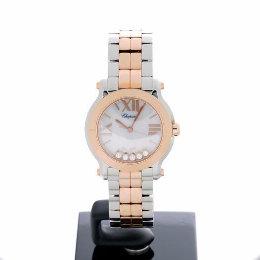 Chopard Happy Sport Quartz Mother of pearl Dial Ladies Watch 278509-6004