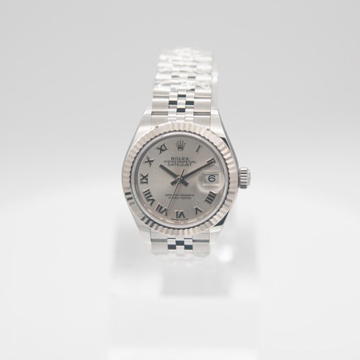 Rolex Lady-Datejust Automatic Silver Dial Oystersteel and 18 ct White Gold Ladies Watch 279174-0007