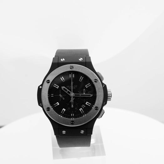 Hublot Big Bang Ice Bang Automatic Black Dial Black Ceramic Men's Watch 301.CK.1140.RX
