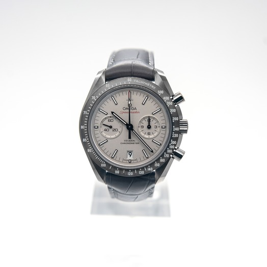 Omega Speedmaster Moonwatch Co‑Axial Chronograph 44.25 mm Automatic Grey Dial Ceramic Men's Watch 311.93.44.51.99.002