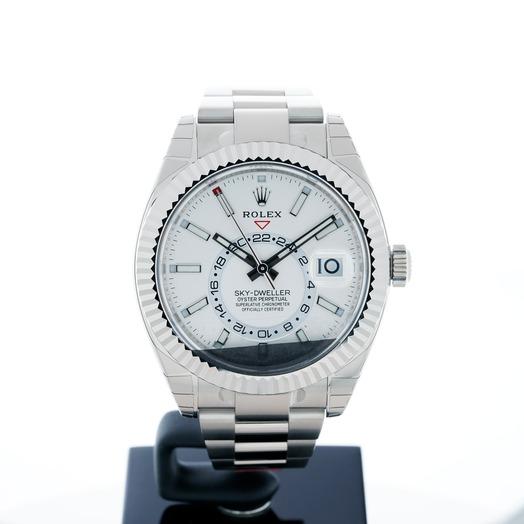 Rolex Sky-Dweller White 18k White Gold 42mm 326939-WO