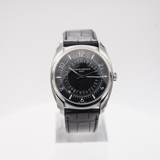 Vacheron Constantin Quai de L'ile Black Dial Automatic Men's Watch 4500S/000A-B196