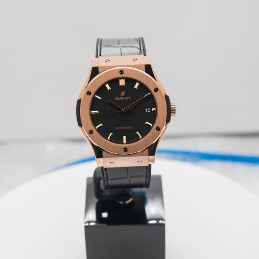 Hublot Classic Fusion King Gold Automatic Black Dial Men's Watch 511.OX.1181.LR