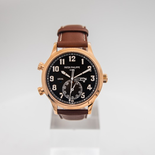 Patek Philippe Complications Brown Dial Men's Watch 5524R-001