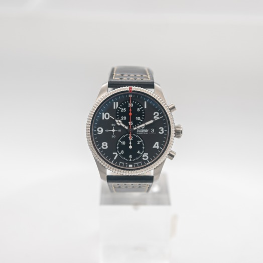 Tutima Glashuette Grand Flieger Classic Automatic Black Dial Men's Watch 6402-01