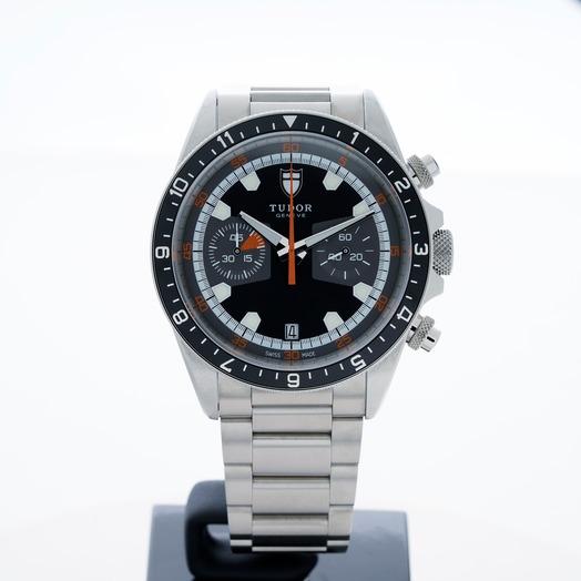 Tudor Heritage Chrono Automatic Black Dial Men's Watch 70330N-95740-BIDSTL