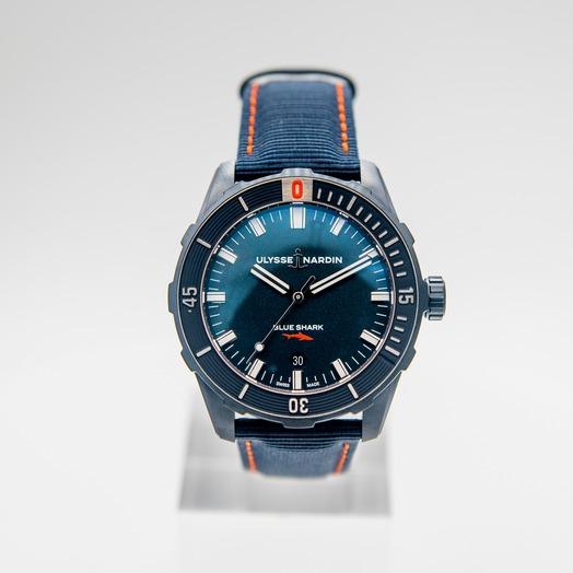 Ulysse Nardin Marine Driver Blue Shark Limited edition 8163-175LE/93-BLUE SHARK