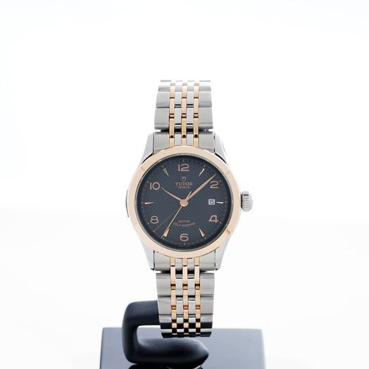 Tudor Tudor 1926 Rose Gold Automatic Black Dial Ladies Watch 91351-0003