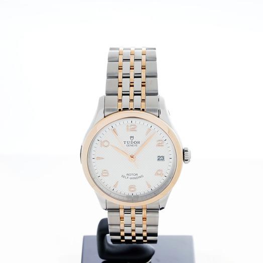Tudor Tudor 1926 Rose Gold Automatic Silver Dial Unisex Watch 91451-0001