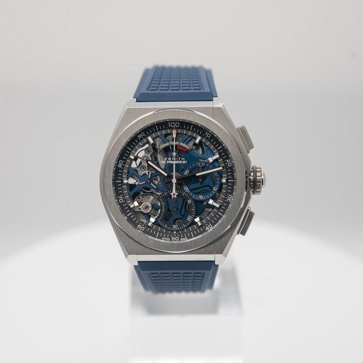 Zenith Zenith Defy El Primero 21 Blue Rubber Men's Watch 95.9002.9004/78.R590