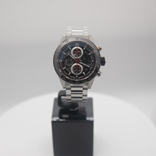 TAG Heuer Carrera Automatic Skeleton Dial Men's Watch CAR201U.BA0766
