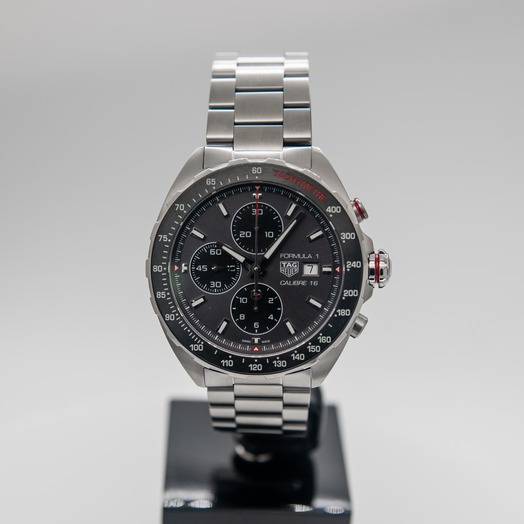 TAG Heuer Formula 1 Chronograph Automatic Grey Dial Men's Watch CAZ2012.BA0876