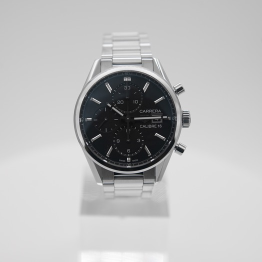 TAG Heuer Carrera Calibre 16 Automatic Black Dial Ladies Watch CBK2110.BA0715