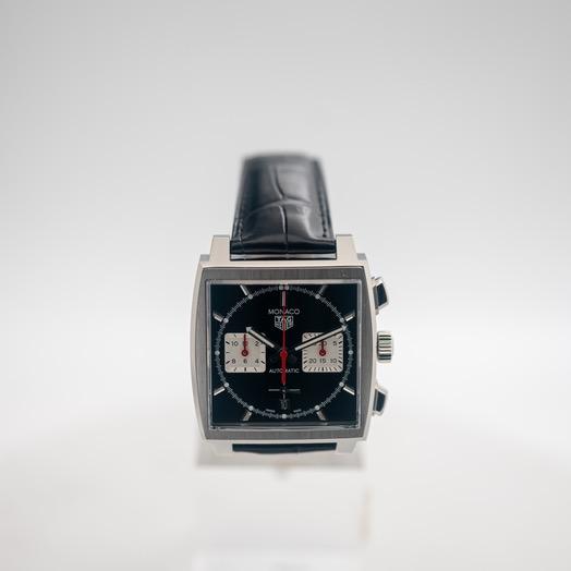 TAG Heuer Monaco Calibre Heuer 02 Automatic Black Dial Men's Watch CBL2113.FC6177
