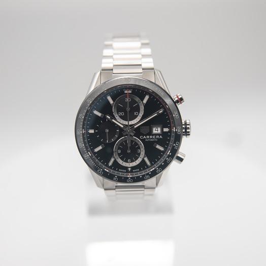 TAG Heuer Carrera Calibre 16 Automatic Black Dial Men's Watch CBM2110.BA0651