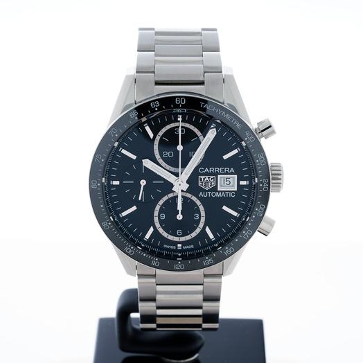 TAG Heuer Carrera Calibre 16 Automatic Chronograph Black Dial Ladies Watch CV201AJ.BA0715