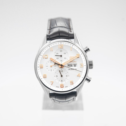 TAG Heuer Carrera Calibre 16 Automatic Silver Dial Men's Watch
