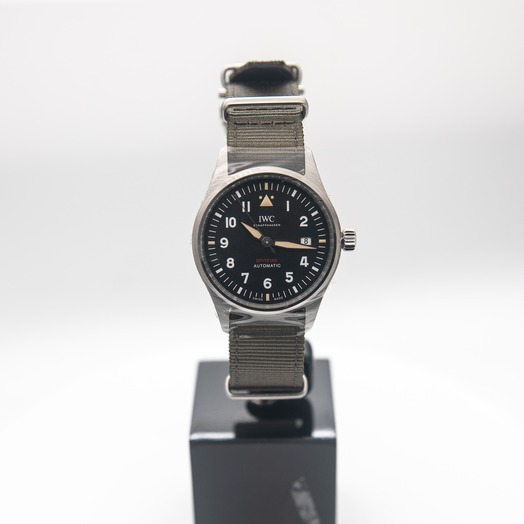 IWC Pilot's Watch Automatic Spitfire Automatic Black Dial Men's Watch IW326801