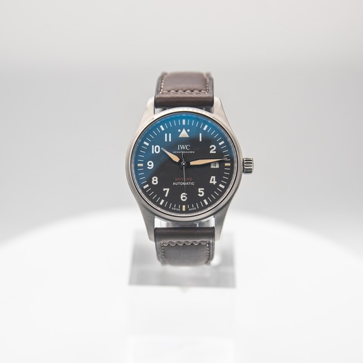 IWC Pilot's Watch Automatic Spitfire Automatic Black Dial Men's Watch IW326803