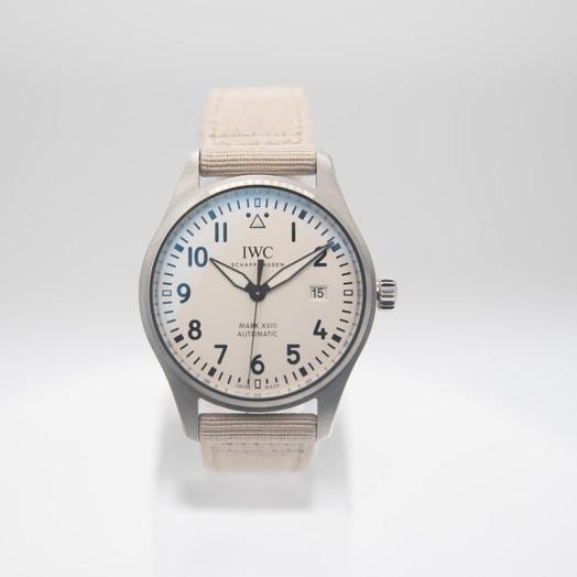 IWC Pilot's Watch Mark XVIII Automatic Silver Dial Men's Watch IW327017