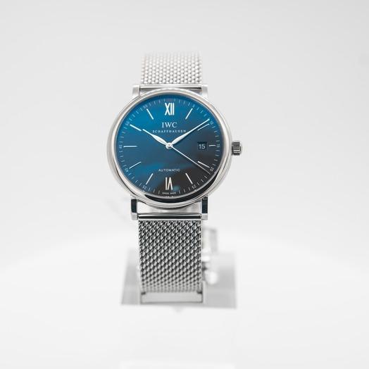 IWC Portofino Automatic Black Dial Men's Watch IW356506