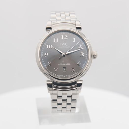 IWC Da Vinci Automatic Grey Dial Men's Watch IW356602