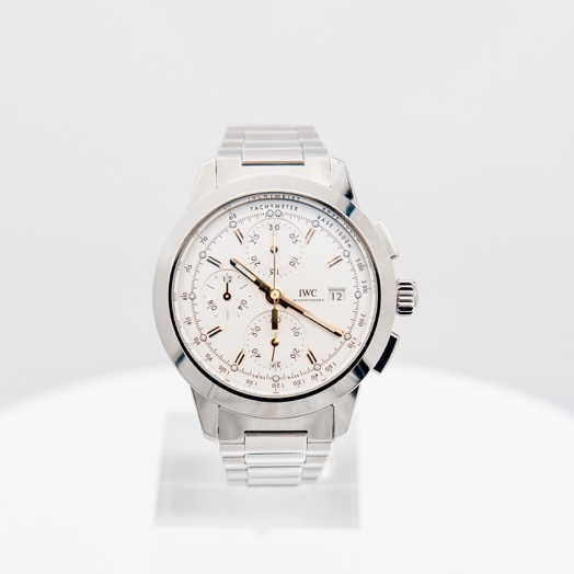IWC Ingenieur Chronograph Automatic Silver Dial Men's Watch IW380801
