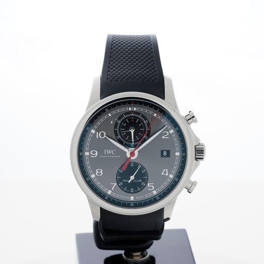 IWC Portugieser Yacht Club Chronograph Automatic Black Dial Men's Watch IW390503