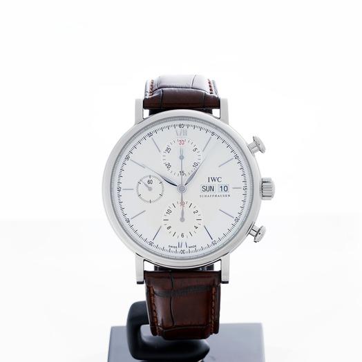 IWC Portofino Chronograph Automatic Silver Dial Men's Watch IW391007