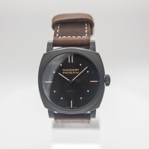 Panerai Radiomir Manual-winding Black Dial 48 mm Men's Watch PAM00577