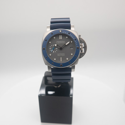 Panerai Submersible 42 mm 3 Days Automatic Grey Dial Men's Watch PAM00959