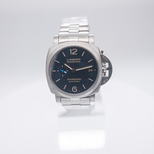 Panerai Luminor Marina Automatic Blue Dial 42 mm Men's Watch PAM01028