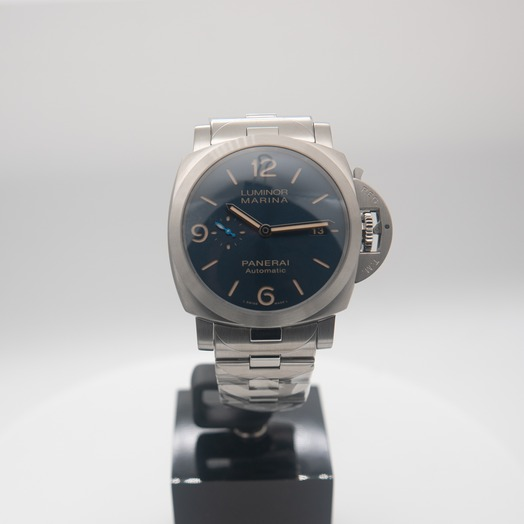 Panerai Luminor Marina 44 mm Automatic Blue Dial Men's Watch PAM01058