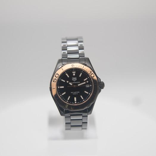 TAG Heuer Aquaracer Quartz Black Dial Ladies Watch WAY1355.BH0716