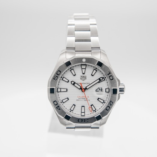 TAG Heuer Aquaracer Automatic White Dial Men's Watch