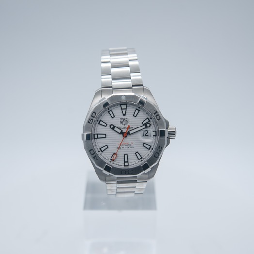 TAG Heuer Aquaracer Calibre 5 Automatic White Dial Men's Watch